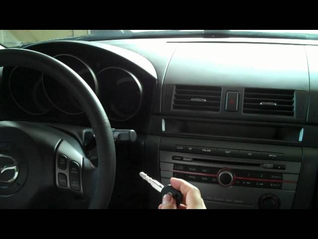 How To: Reprogram Keys for Mazdaspeed3 - YouTube