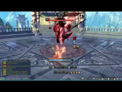 Bajheera - Blade & Soul Destroyer 1v1 Arena Commentary (~1550 Rating) - Blade & Soul PvP Tips