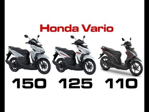 Honda Vario  Dengan Cc Berbeda  Youtube