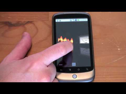 Nexus One: Live Wallpapers Video