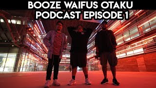 Fall Anime 2018, Crunchyroll/Funimation Split | Booze Waifus & Otakus Podcast Episode 1