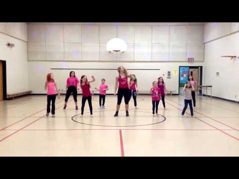 Wow Girls Zumba, Roar By Katie Perry video