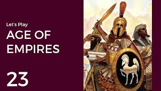 Let's Play Age of Empires #23 | Ascent of Egypt 12: Siege in Canaan