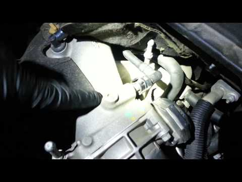 2008 Saturn Outlook purge flow canister repair.