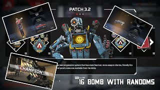 Crushing pubs in Apex legends | Patch 3.2 update | All 36 New Charms | Apex Legends Update