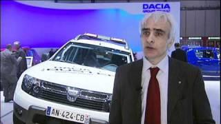 Dacia al Salone di Ginevra 2011