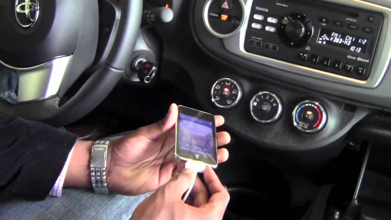 2012 Toyota Yaris Aux And Usb Ports How To By