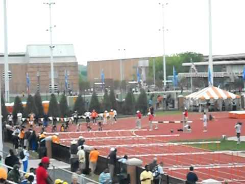 Women's 100 Meter Hurdles (Heat 1) - Sea Ray Relays 2011