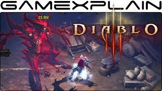 10 Minutes of Diablo III: Eternal Collection DIRECT FEED Gameplay (Nintendo Switch - PAX 2018)