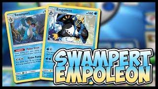 Swampoleon! Pokemon TCG Online Gameplay
