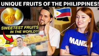 DELICIOUS Unique Fruits Only In Philippines?! Reaction