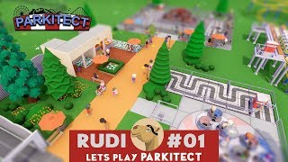PARKITECT and the camel - Lets play Parkitect Scenarios 1.0 #02