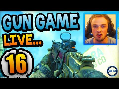 """NOOOOOO!"" - Gun Game LIVE w/ Ali-A #16! - (Call of Duty: Ghost)"
