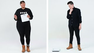 Women Weigh Themselves On Camera For The First Time