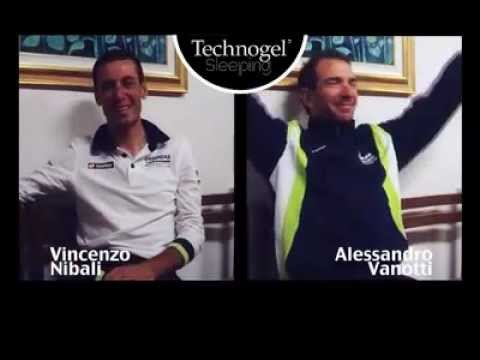 Double interview to Vincenzo Nibali and Alessandro Vanotti of Liquigas-Cannondale Team
