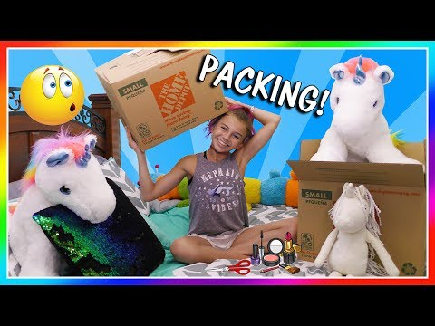 KAYLA SHOWS HER SECRET POSSESSIONS | PACKING DAY | We Are The Davises streaming vf