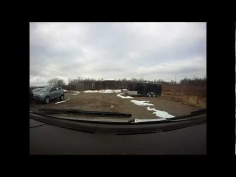 Driving Around Amherst Nova Scotia GoPro