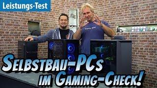 SO GUT sind unsere SELBSTBAU-PCs! | #Gaming-PC #Gewinnspiel