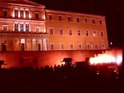 Greece: Protest for the 65 deaths from forest fires