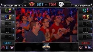 TSM vs SKT | Bjergsen vs Faker - MSI 2015 (Full Game) Day 1