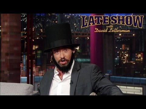 Hugh Jackman as Lincoln Stunt to Win Best Actor, Michelle Obama's Bangs, and More!