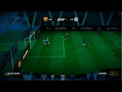 Fifa Street Barcelona Vs Chelsea video