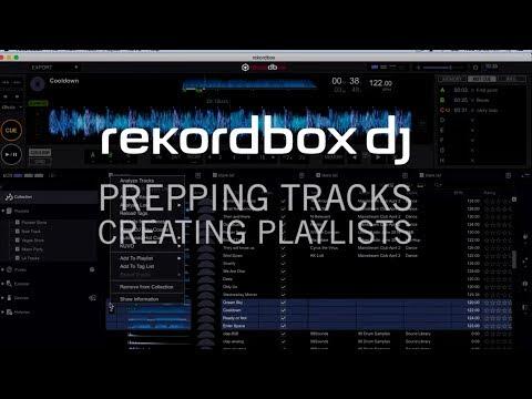 rekordbox dj - Подготовка треков и создание плейлистов