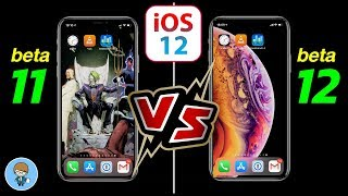 เป๊ะได้อีก! iPhone X iOS 12 beta 11 VS iOS 12 beta 12 (Dev) Speed & Battery Test
