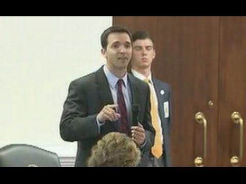 Freshman Senator blasts budget process