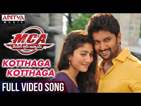 Kotthaga Kotthaga Full Video Song | MCA Full Video Songs | Nani, Sai Pallavi | DSP | Sriram Venu