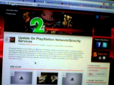 Update 2: PlayStation Network Outage: PSN is HACKED!? Error Code 8002A203 4/24/11