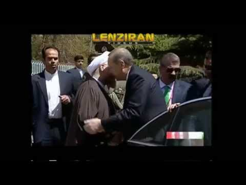 Hassan Rouhani welcome Turkish president Erdogan in Saad Abad palace !