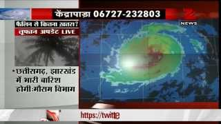 Cyclone Phailin 150 kms away from Gopalpur