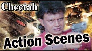 Cheetah Movie | Action Scenes | Mithun Chakraborty |