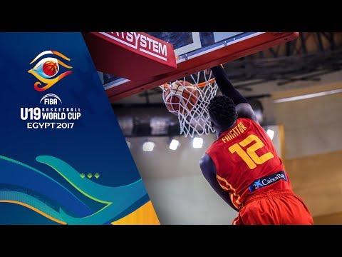 【代表】FIBA U19バスケットボールワールドカップ2017 日本 vs スペイン