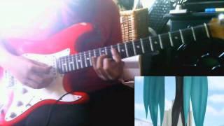 Hatsune Miku-Kocchi Muite Baby (guitar cover)