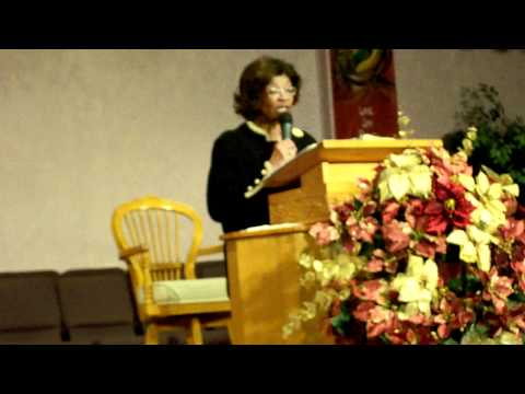Healing & Mending for Chaotic Family (Pt 3) - Suffragan Bishop Eulah M. Nelson