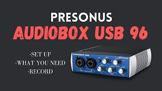 AudioBox USB Tutorial