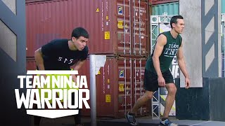 Final Rounds – Flip Rodriguez vs. Travis Rosen | Team Ninja Warrior | American Ninja Warrior