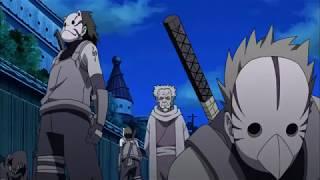 Itachi threatens Danzo