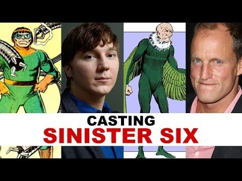 Sinister Six Movie : Casting Characters aka Villains - Beyond The Trailer