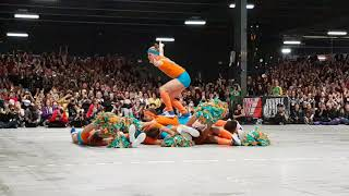 Fearleaders Roller Derby World Cup 2018 Final Halftime Show, Part1