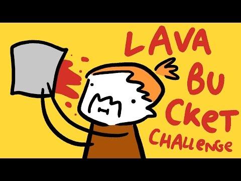 LAVA BUCKET CHALLENGE #icebucketchallenge