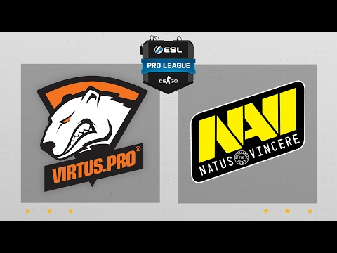 CS:GO - VP vs. NaVi [Cbble] Map 2 - ESL Pro League Season 5 - EU Matchday 2