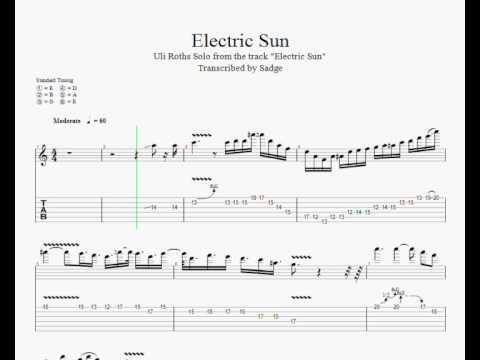 Uli Roth - Electric Sun Solo Lesson