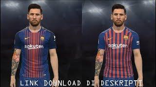 FC Barcelona 18-19 Home Kit Leaked for PES 2017 1.23 MB