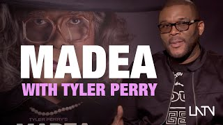 Tyler Perry talks A Madea Family Funeral and hears pitches for new Madea movies.  | ONE TAKE