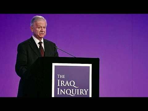 Sir John Chilcot outlines key findings of report into Iraq war