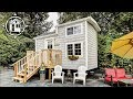 Beach-Themed Tiny House is Bright, Functional, and Available for Rent