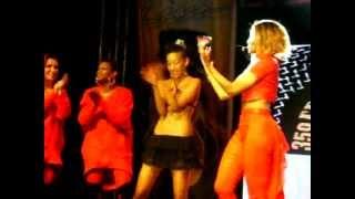 CIARA live in BULGARIA- Work - feat. BULGARIAN DANCERS :)